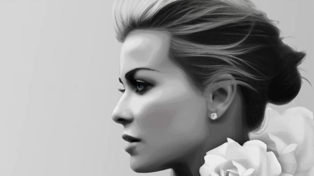 girl side profile images - reverse search